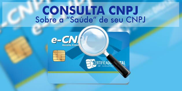 Situação Cadastral CNPJ: A consulta