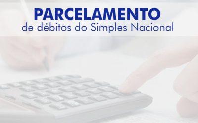 Parcelamento de débitos do Simples Nacional
